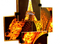 Mosaic Eiffel Tower