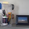 Tape Hooks and Storage Bin